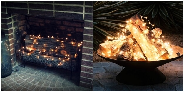 10 Magical Outdoor Decor Projects with Fairy Lights 1