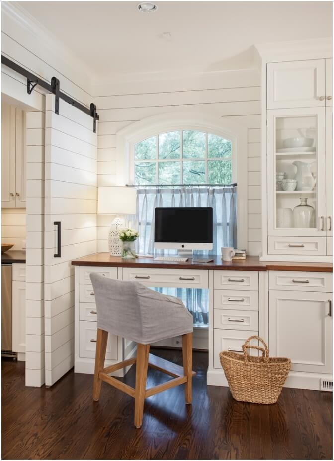 10 Stylish Ways to Dress The Windows of Your Home Office 7