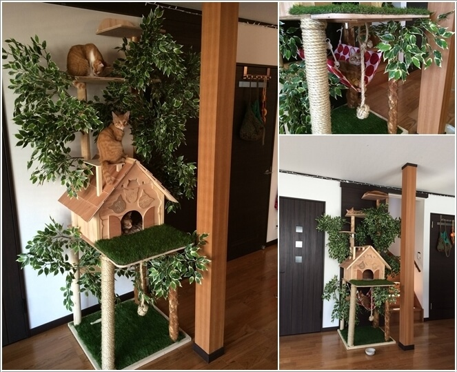 10 Super Cool Cat Houses and Cabins for Your Kitty 8