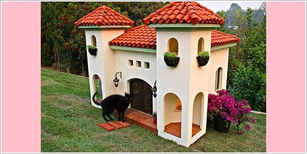 Surprising 10 Super Cool Cat Houses And Cabins For Your Kitty Largest Home Design Picture Inspirations Pitcheantrous