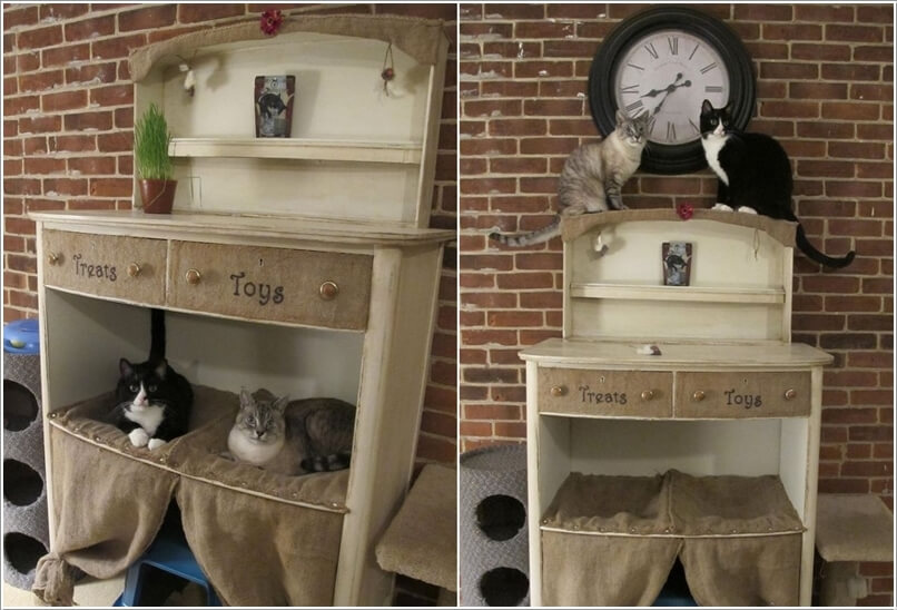 10 super cool cat houses and cabins for your kitty