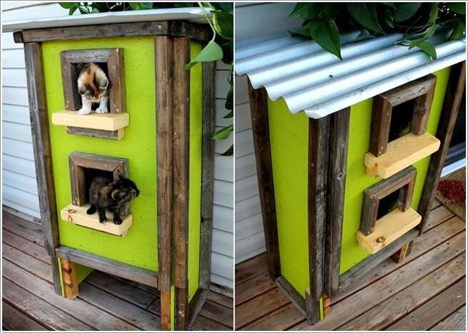 10 Super Cool Cat Houses and Cabins for Your Kitty 7