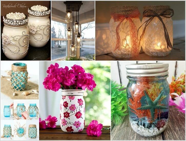 These Mason Jar Projects Will Give You An Itch to Craft a