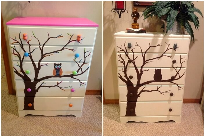 10 Ways to Give a Makeover to a Chest of Drawers 1