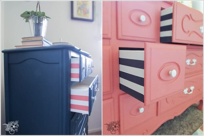 10 Ways to Give a Makeover to a Chest of Drawers 2