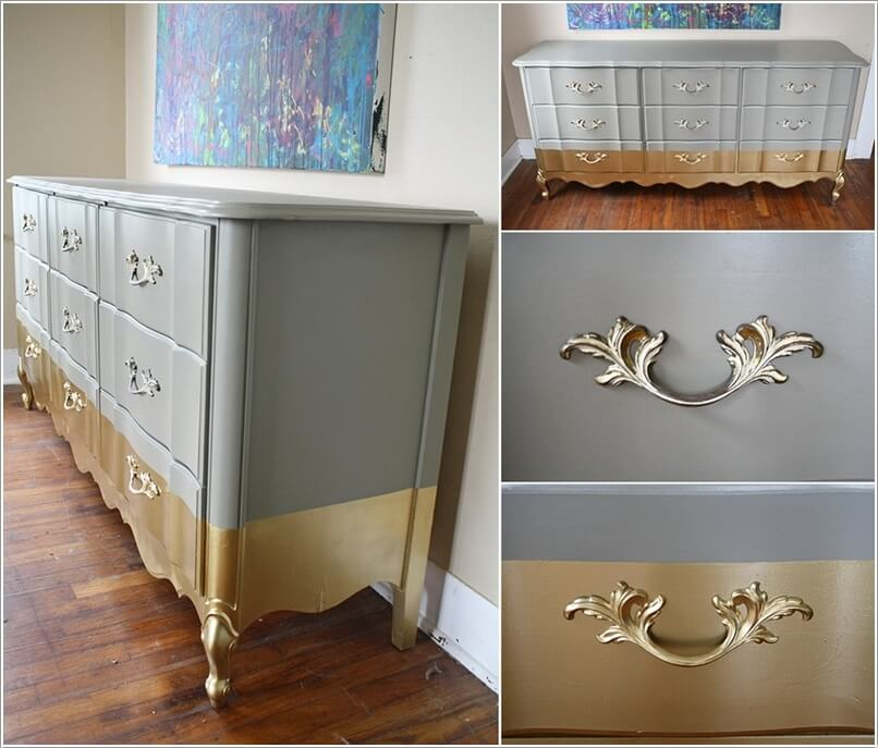 10 Ways to Give a Makeover to a Chest of Drawers 5