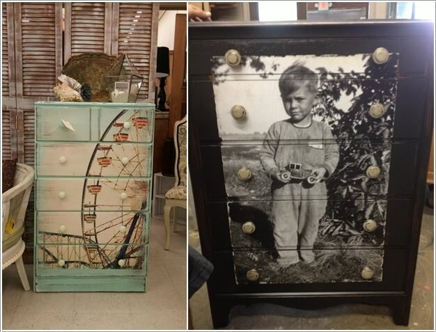 10 Ways to Give a Makeover to a Chest of Drawers 7