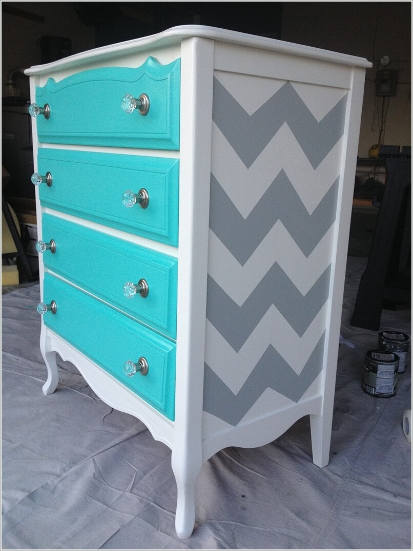 10 Ways To Give A Makeover To A Chest Of Drawers