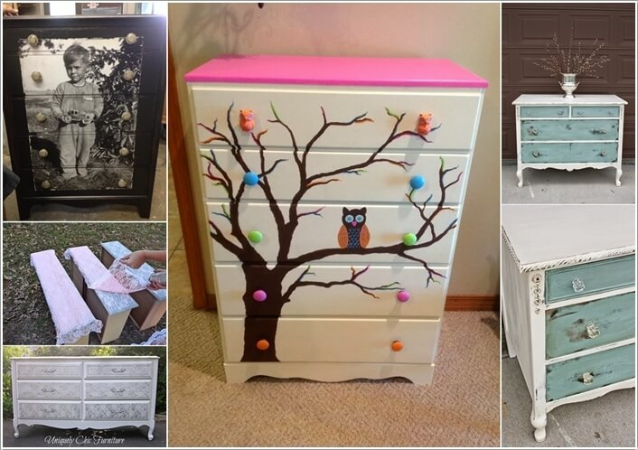 10 Ways to Give a Makeover to a Chest of Drawers a