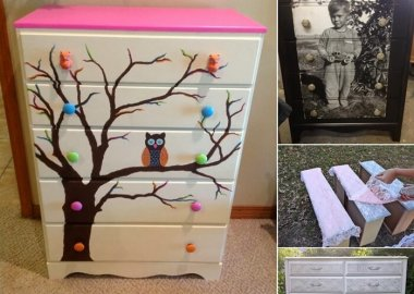 10 Ways to Give a Makeover to a Chest of Drawers fi