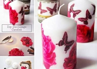 12 Elegant Ways to Decorate Plain Pillar Candles fi