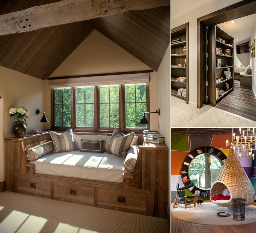 13 Cool Ideas For Designing Your Dream Reading Room