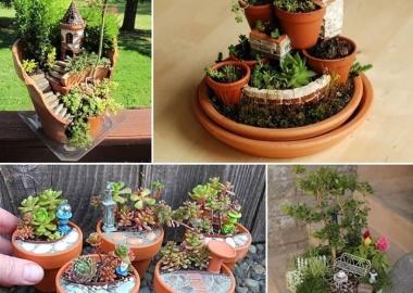 16 Creative Miniature Garden Ideas You Will Admire fi