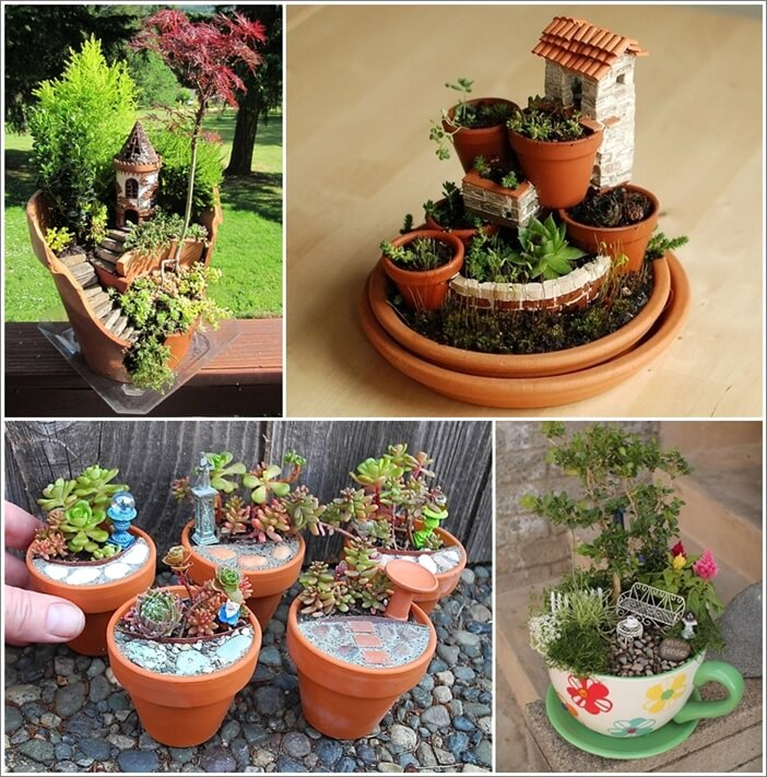 Miniature Garden Ideas 24 of the most beautiful ideas on indoor mini garden to collect homesthetics 8 16 Creative Miniature Garden Ideas You Will Admire