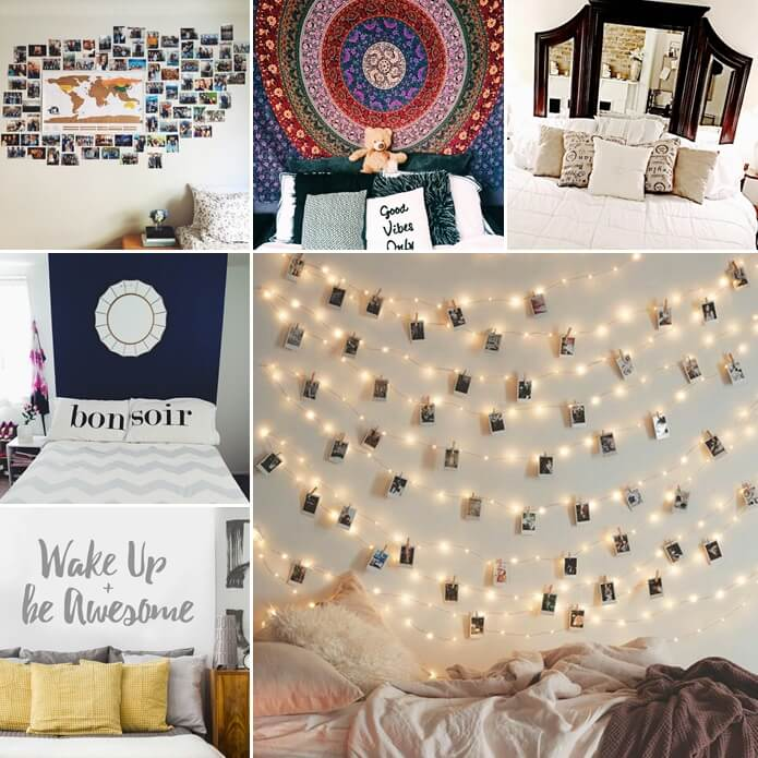 19 cool ways to decorate a bed that has no headboard - Bed without headboard ideas ...