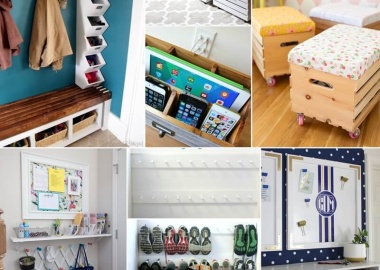 21 Clever Tips to Organize Your Entryway fi