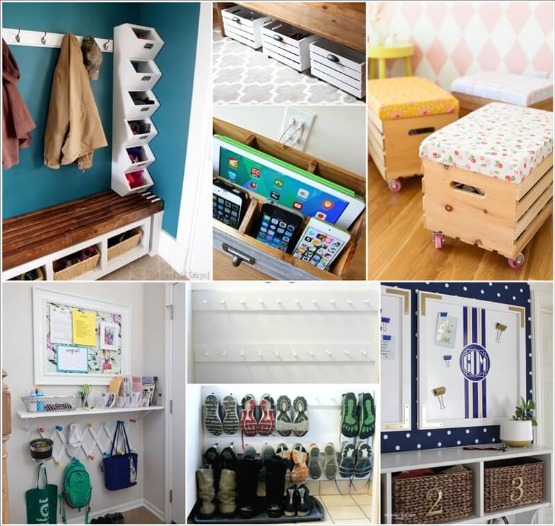 21 Clever Tips to Organize Your Entryway 1