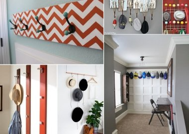 22 DIY Hat Racks to Organize and Display Your Hat Collection fi