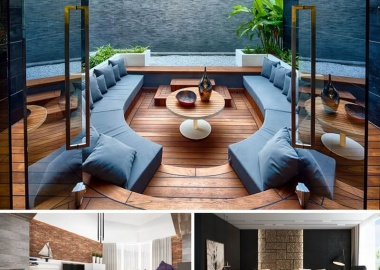 25 Living Rooms with Cool Contemporary Designs fi