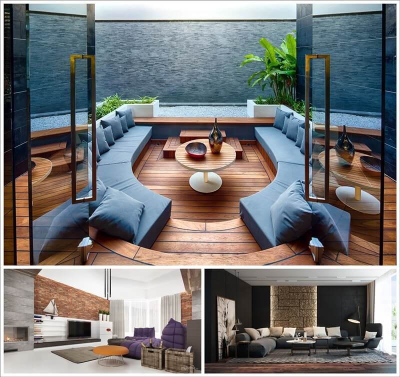 Amazing Interior Design 25 Living Rooms with Cool Contemporary Designs