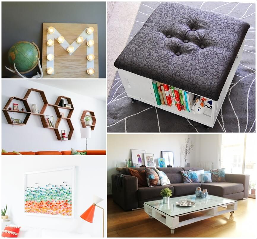 Home Design Ideas Handmade: 26 DIY Living Room Decor Projects That Won't Break The Bank