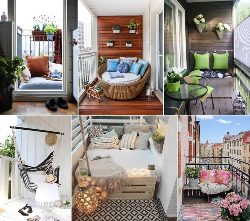 25 Wonderful Balcony Design Ideas For Your Home: Over 50 Ways To Cozy Up Your Balcony
