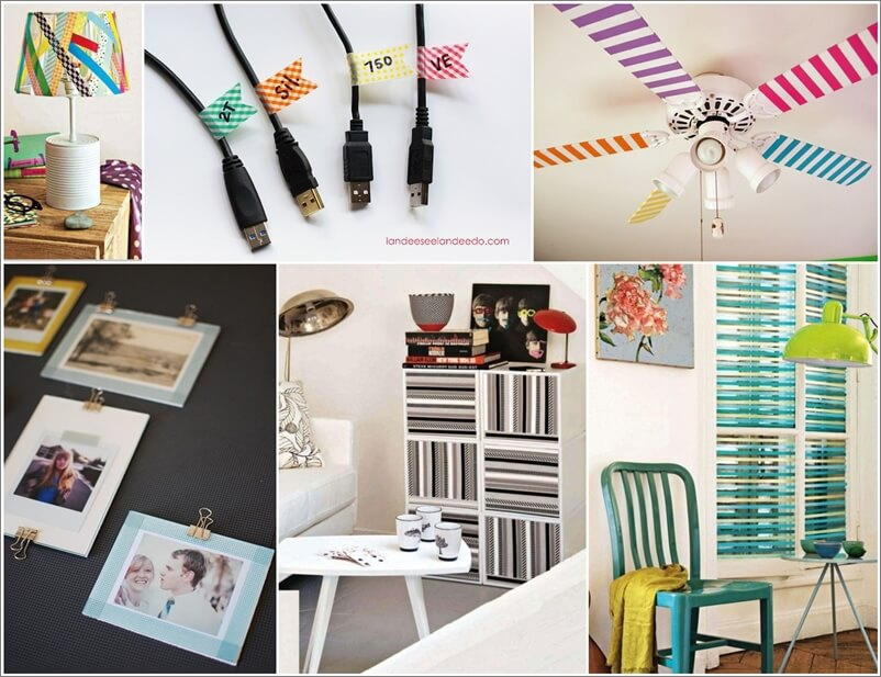 56 Creative Ways to Decorate with Washi Tapes 1