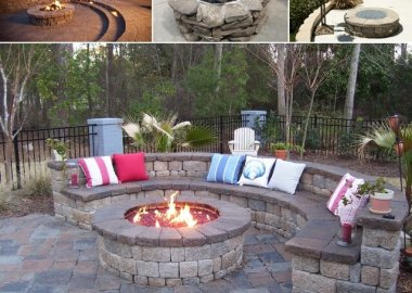9 Stone Fire Pit Designs For Your Hoe's Outdoor fi