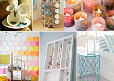 Decorate Your Bedroom with Dollar Store Finds fi