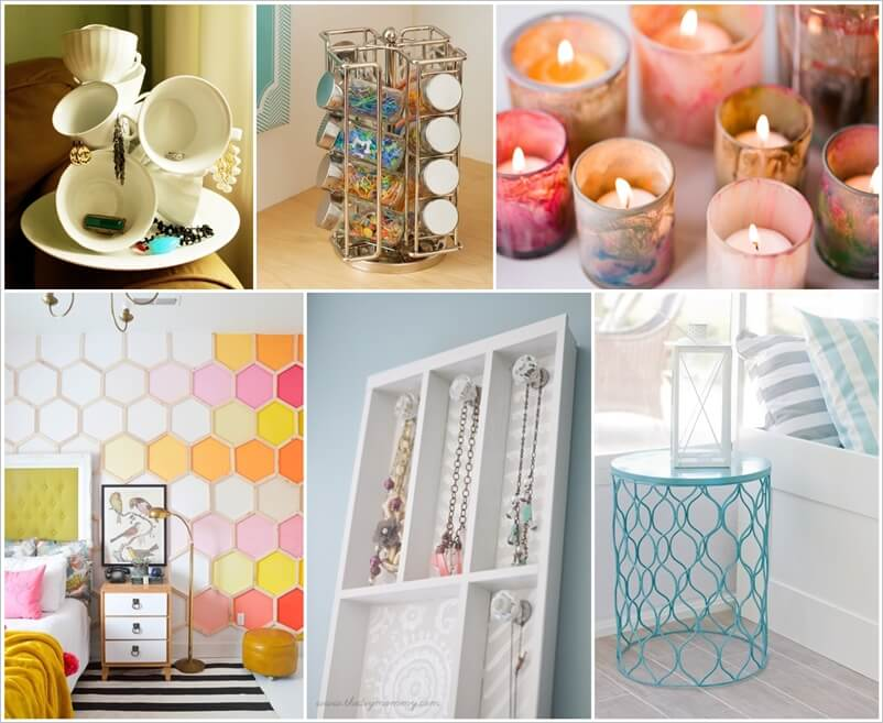 Decorate Your Bedroom with Dollar Store Finds 1