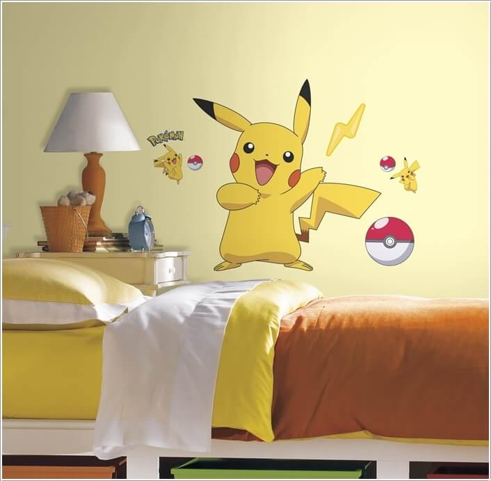 Pokemon Painting Kids Room