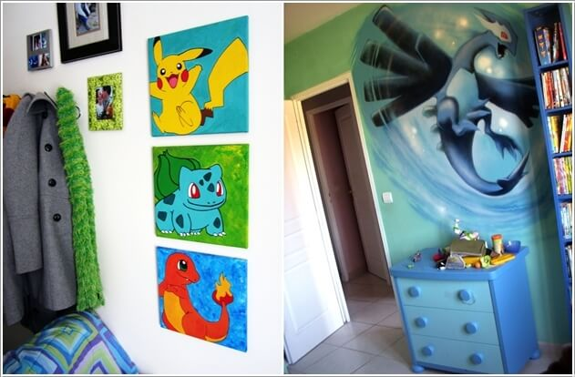 Have A Look At These Cool Pokemon Bedroom Ideasrhamazinginteriordesign: Pokemon Bedroom Decor At Home Improvement Advice