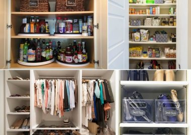 Keep Your Closets and Cabinets Organized with These Tips fi
