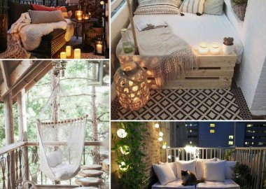 Over 20 Cozy Ideas to Decorate Your Balcony fi
