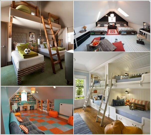 These Kids Roof Rooms are Simply Awesome a