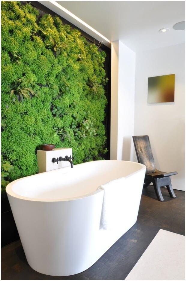 10 Chic and Classy Behind Bathtub Wall Ideas 10