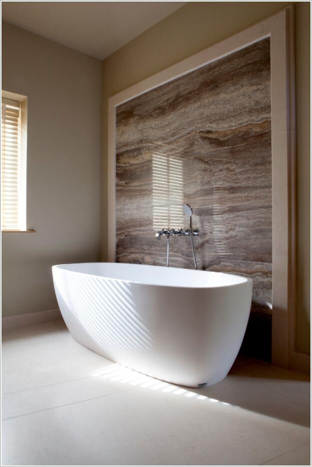 10 Chic And Classy Behind Bathtub Wall Ideas 2
