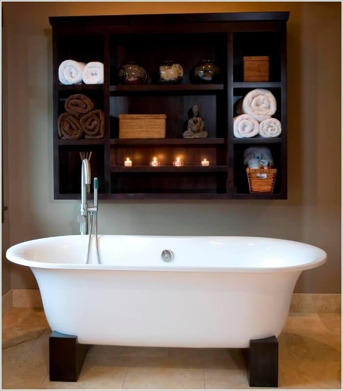 10 Chic and Classy Behind Bathtub Wall Ideas 4