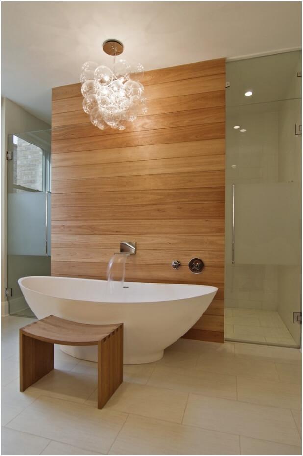 10 Chic and Classy Behind Bathtub Wall Ideas 5