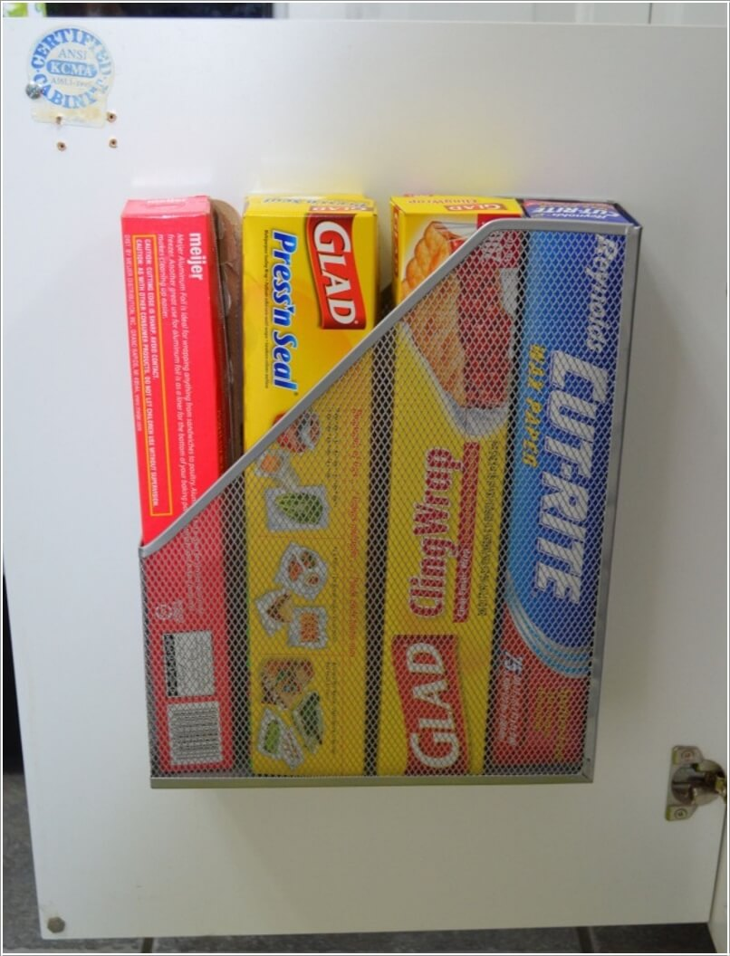 10 Clever Ways to Organize your Home with Magazine Holders 1