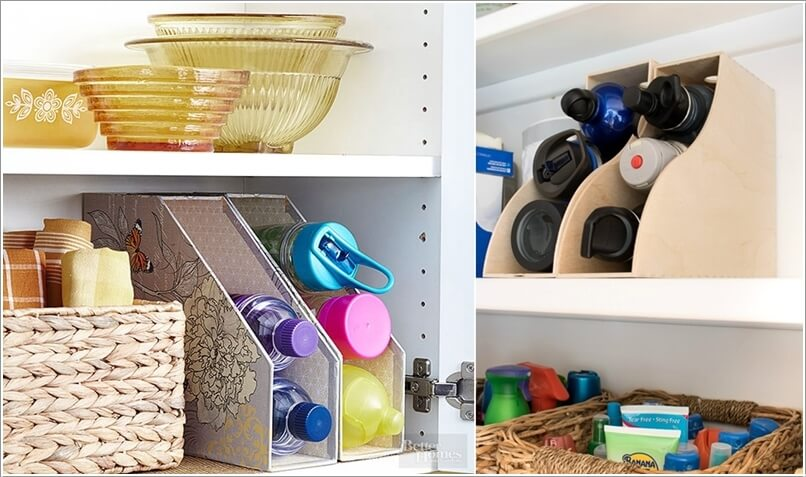 10 Clever Ways to Organize your Home with Magazine Holders 2