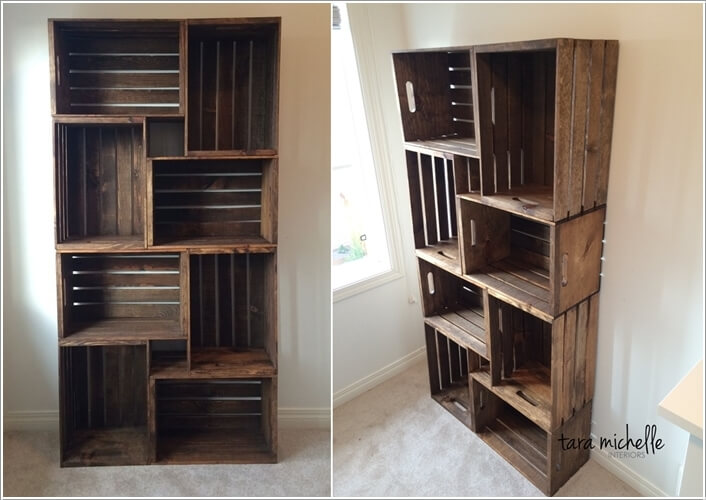 10 cool diy bookcase ideas that won 39 t break the bank