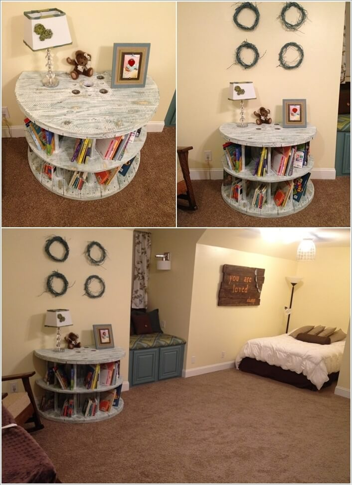 10 Cool DIY Bookcase Ideas That Won't Break The Bank 6