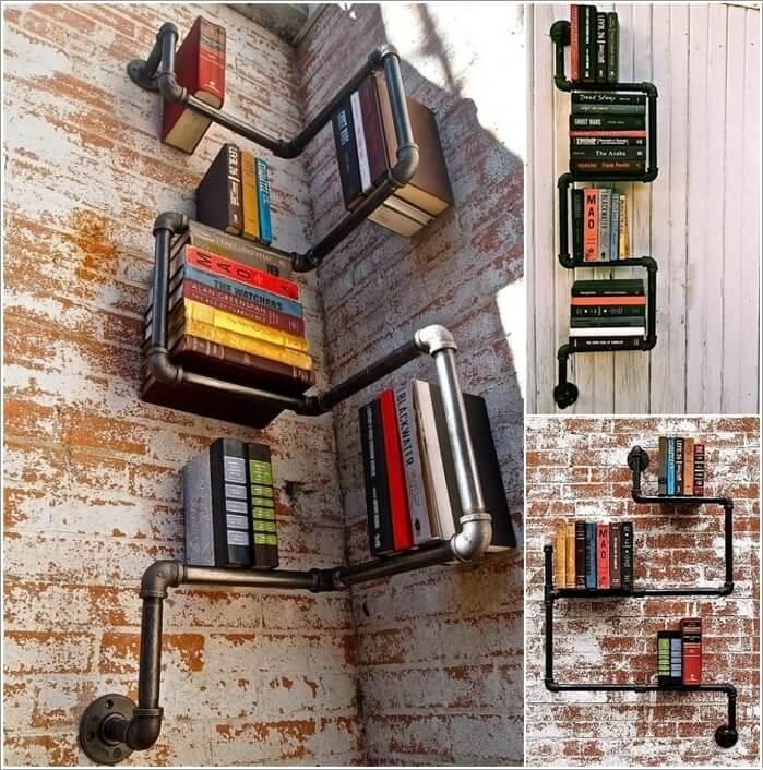 10 Cool DIY Bookcase Ideas That Won't Break The Bank 7