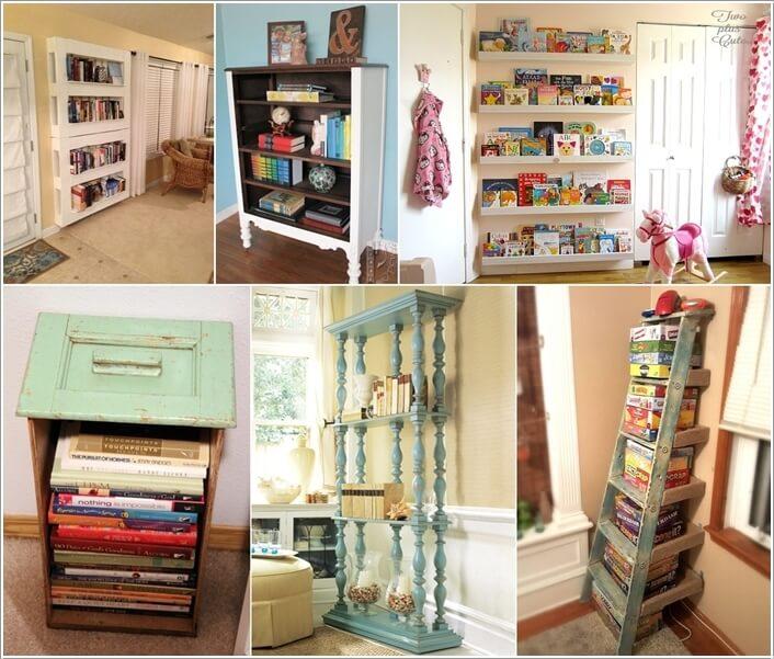 10 Cool DIY Bookcase Ideas That Won't Break The Bank a