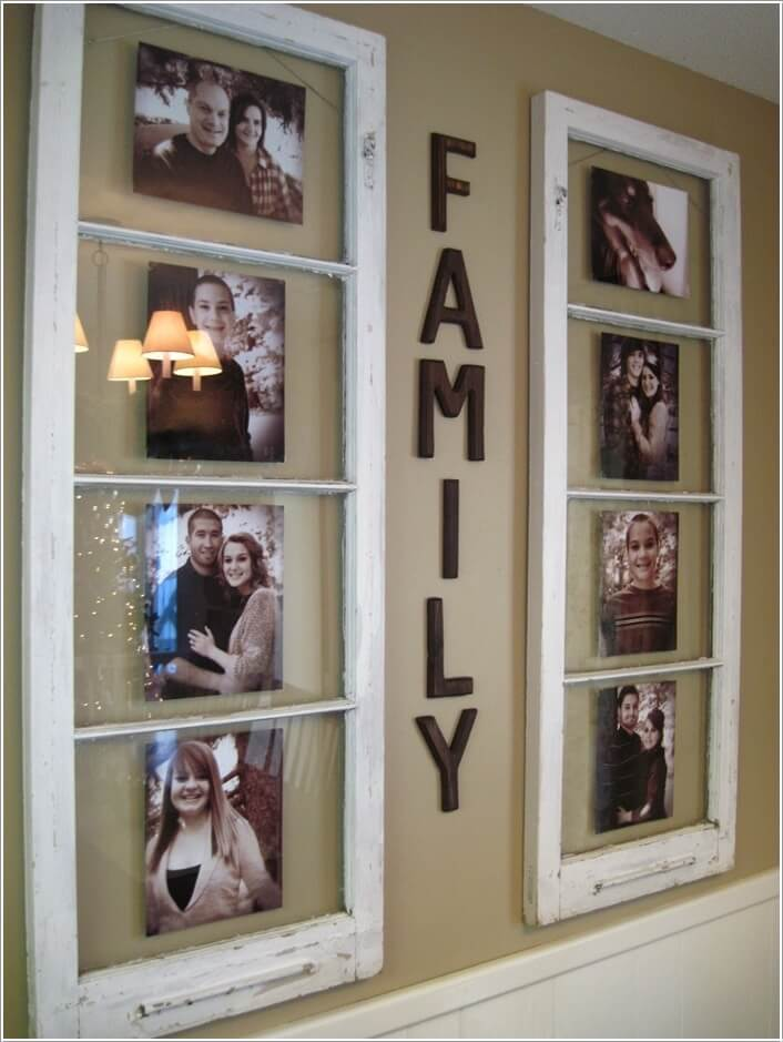 10 Cool Ways to Decorate Your Walls with Family Photos 3