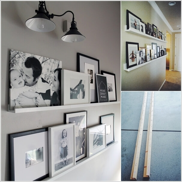 10 Cool Ways to Decorate Your Walls with Family Photos 7