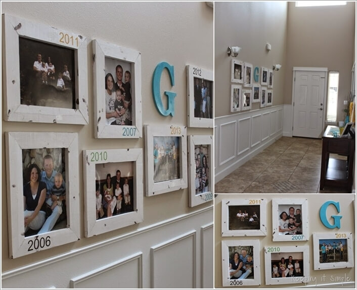10 Cool Ways To Decorate Your Walls With Family Photos 9