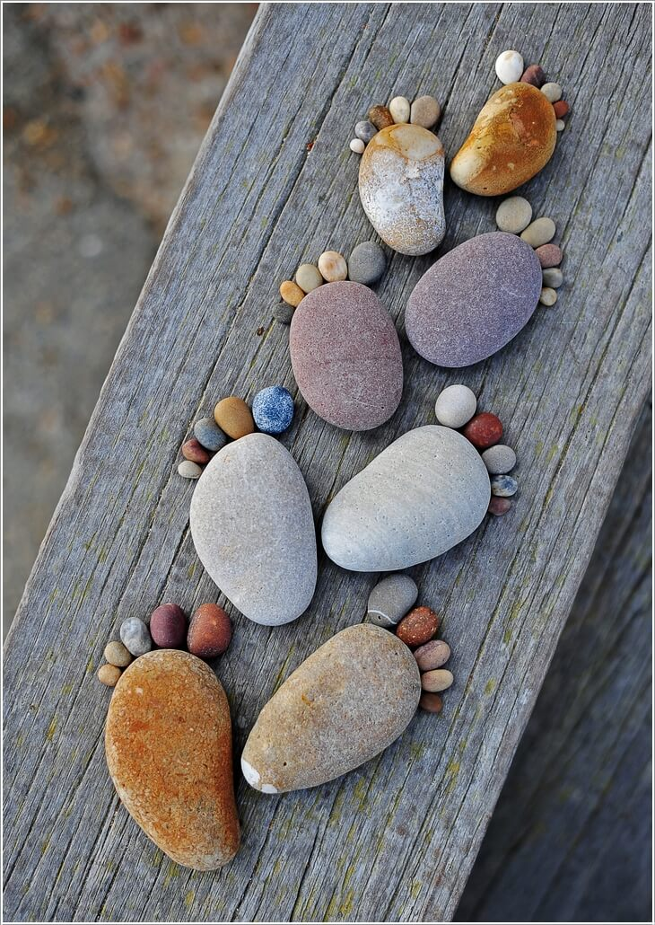 10 Cute and Creative Projects to Make from Rocks 1