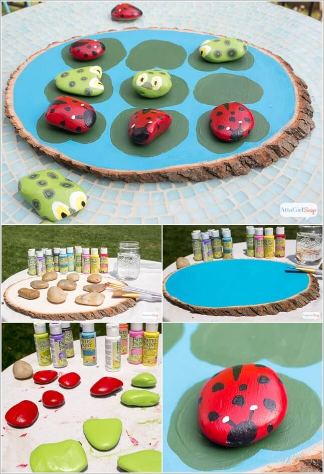 10 Cute and Creative Projects to Make from Rocks 10